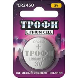 Элемент питания Трофи CR2450-1BL