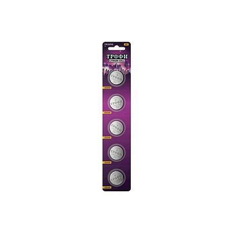Элемент питания Трофи CR2450-5BL