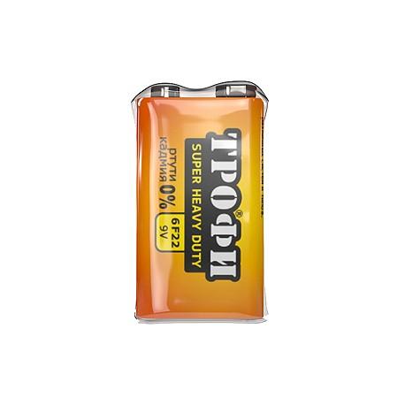 Батарейка крона Трофи 6F22 9V