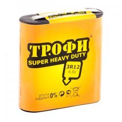 Батарейка квадратная Трофи 3R12-1S