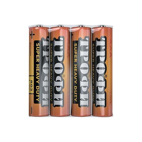 Батарейка Трофи R03-4S