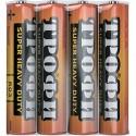 Батарейка Трофи R03-4S AAA