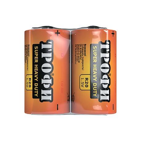 Батарейка Трофи R20-2S