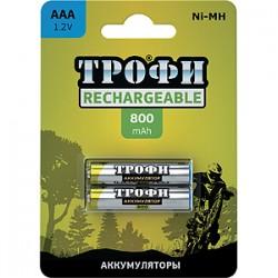 Аккумуляторная батарея Трофи HR03-2BL 800 mAh