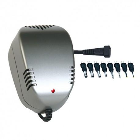 Адаптер/блок питания ROBITON DN500 500мА нестабилизированный, 8 насадок BL1