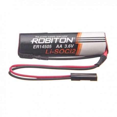 Элемент питания  Robiton ER14505-DP AA с коннектором