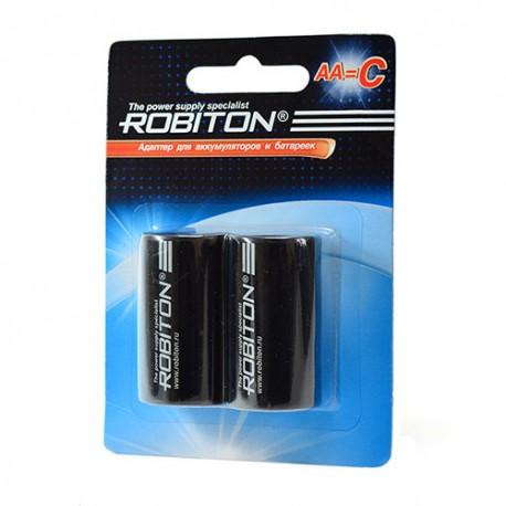Адаптер для аккумуляторов ROBITON Adaptor-AA-C BL2