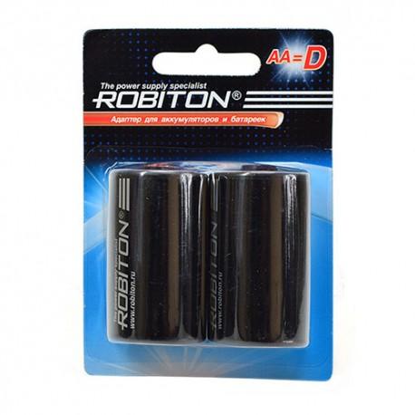 Адаптер для элементов питания ROBITON Adaptor-AA-D BL2