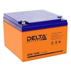 Cвинцово-кислотный аккумулятор Delta HR 1226 12V 26Ah