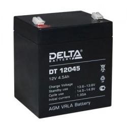 Свинцово-кислотный аккумулятор DELTA DT 12045 12V 4.5Ah