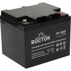 Свинцово-кислотный аккумулятор Восток СК-1240