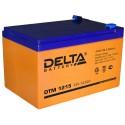 Свинцово-кислотный аккумулятор Delta DTM 1215 12V 15Ah