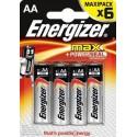Батарейка Energizer Max LR6-4Bl (AA) 1.5 V