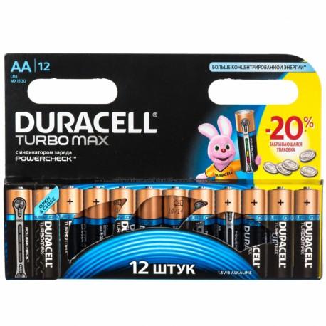 "Батарейка Duracell TURBO  MN1500 (LR06) Size""AA"", 1.5 V"
