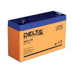 Свинцово-кислотный аккумулятор Delta HR 612 6V 12Ah