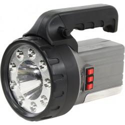 Аккумуляторный фонарь Эра FA58M 2Ah, 1W+9+18 LED, ЗУ 220V, карт