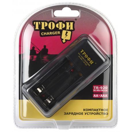 Зарядное устройство Трофи TR-920 компактное AA, AAA