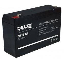 Свинцово-кислотный аккумулятор Delta DT 612 6V 12Ah