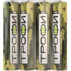 Батарейка Трофи R03-4S Классика