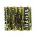 Батарейка Трофи R6-4S Классика AA