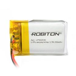 Аккумулятор Robiton LP502030 3.7В 250mAh PK1